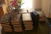 Copies of the limited edition Blaylock & Powers Bibliography.