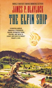The Elfin Ship by James P. Blaylock, Grafton Press, UK